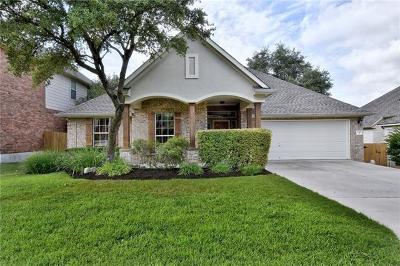 Steiner Ranch Single Family Home For Sale: 12505 Bright Sky Overlook