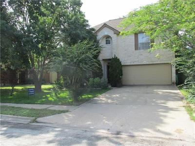 Round Rock Single Family Home For Sale: 1000 Riverlawn Dr