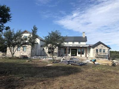 Marble Falls Single Family Home For Sale: 116 Foxwood Trl