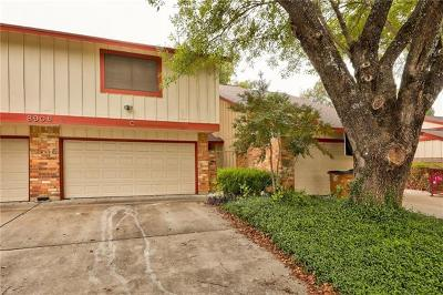 Austin Condo/Townhouse For Sale: 8906 Parkfield Dr #C