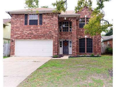 Round Rock Single Family Home For Sale: 2109 Grove Dr