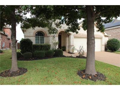 Round Rock Single Family Home For Sale: 2708 Plantation Dr