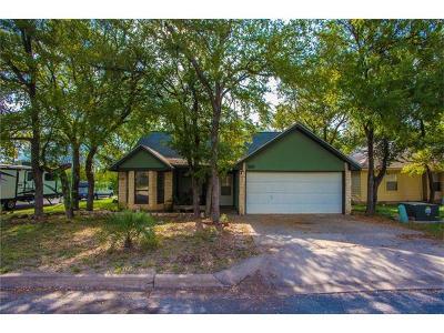 Cedar Creek Single Family Home Pending - Taking Backups: 100 S Mockingbird Cir