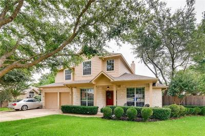 Cedar Park Single Family Home Pending - Taking Backups: 2904 Brianwood Ct