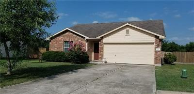 Elgin Single Family Home For Sale: 620 Lavaca Loop