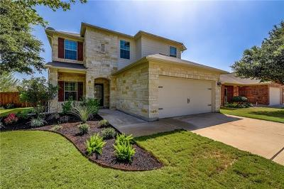 Leander Single Family Home For Sale: 316 Falcon Ln E