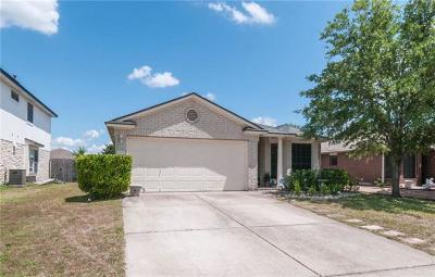 Round Rock Single Family Home For Sale: 17415 Valentine Dr