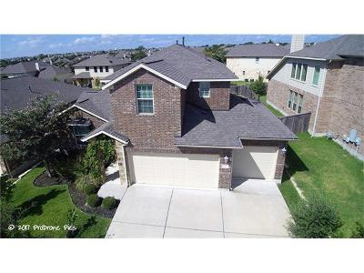 Round Rock Single Family Home For Sale: 4211 Woodhaven Trl