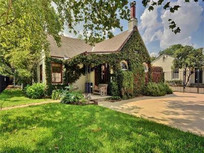 Rosedale G, Rosedale B, Rosedale C, Rosedale E, rosedale, Rosedale Estates Single Family Home For Sale: 4400 Burnet Rd
