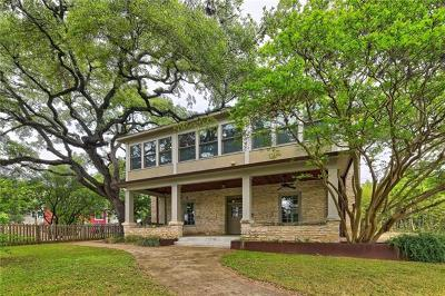 Austin Single Family Home For Sale: 708 Patterson Ave