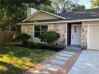 Travis County Single Family Home For Sale: 3705 Hobbs Cv