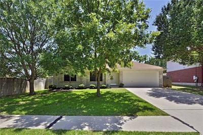 Round Rock Single Family Home Pending - Taking Backups: 7031 Rambollet Ter