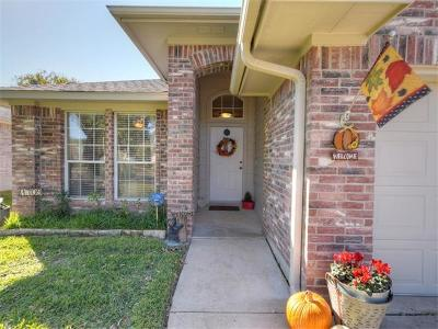 Cedar Park Single Family Home For Sale: 1709 Avante Dr