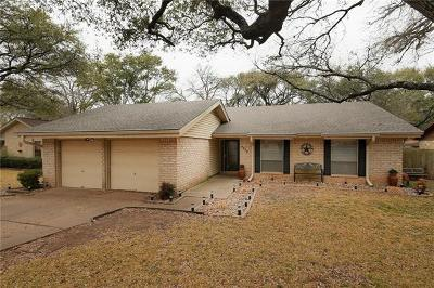 Travis County, Williamson County Single Family Home Pending - Taking Backups: 9424 Shady Oaks Dr