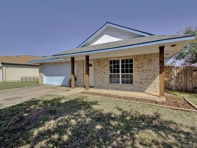 Leander Single Family Home For Sale: 921 Eagles Way