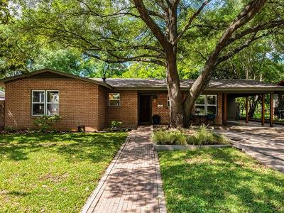 Austin Single Family Home For Sale: 1507 Northridge Dr