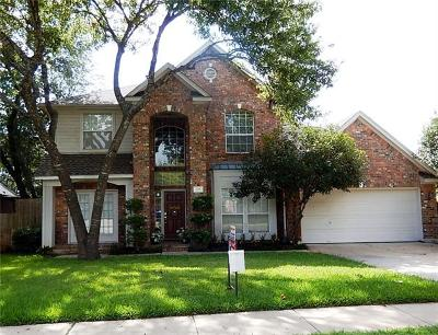 Round Rock Single Family Home For Sale: 505 Oak Park Dr