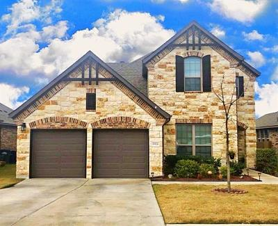 Round Rock Single Family Home For Sale: 6924 Etna Way