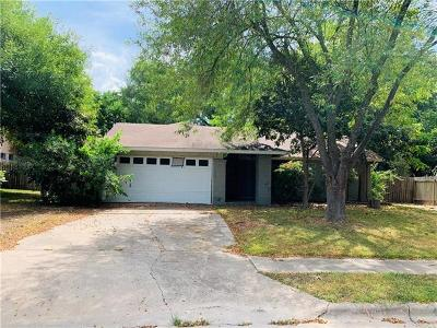 Single Family Home For Sale: 5309 Fort Mason Dr