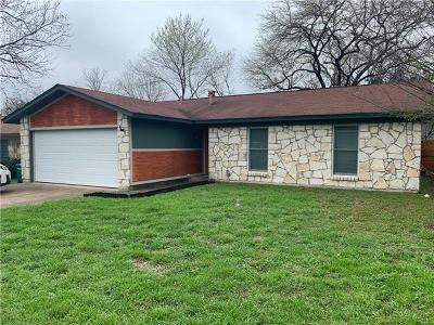 Travis County Single Family Home Pending - Taking Backups: 1406 Turtle Creek Blvd