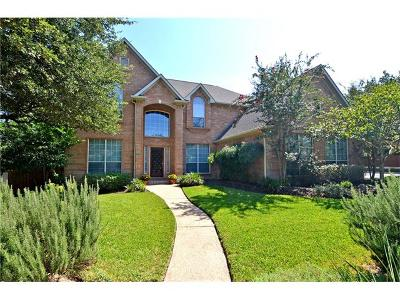 Round Rock Single Family Home For Sale: 7003 High Bluff Trl