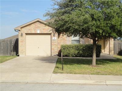Kyle Single Family Home Pending - Taking Backups: 540 Sheep Trail Dr