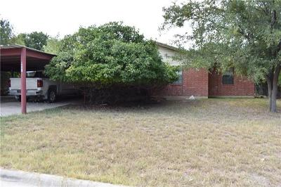 Lampasas Single Family Home For Sale: 1407 W Avenue C