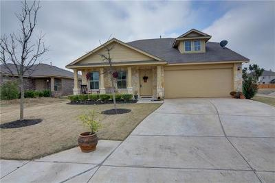 Bastrop Single Family Home Pending - Taking Backups: 104 Wild Cat Dr