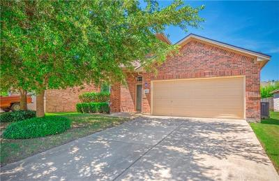 Pflugerville Single Family Home For Sale: 4013 Veiled Falls Dr