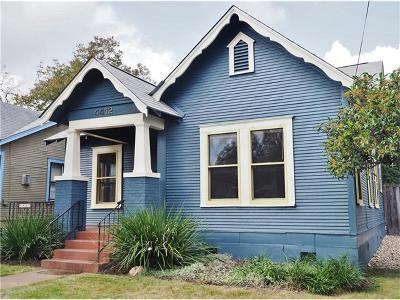 Single Family Home For Sale: 4412 Red River St