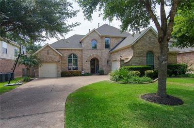 Round Rock Single Family Home For Sale: 827 Hidden Glen Dr