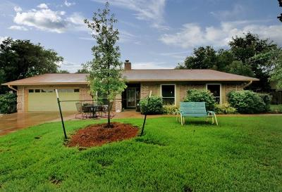 Round Rock Single Family Home For Sale: 1502 Dragon Dr