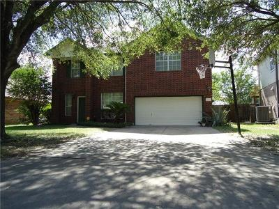 Round Rock Single Family Home For Sale: 17018 Jigsaw Pathway