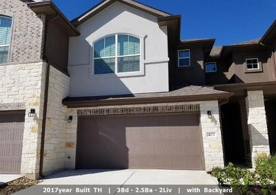 Pflugerville Condo/Townhouse Pending - Taking Backups: 402 Epiphany Ln