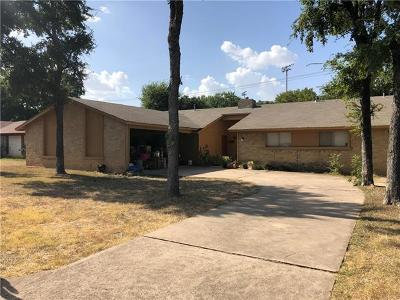 Round Rock Multi Family Home For Sale: 1304 Glenda Dr S
