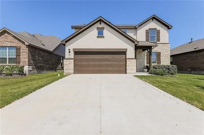 Round Rock Single Family Home For Sale: 8033 Massa Dr