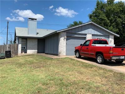 Temple Multi Family Home For Sale: 3208 Trenton Dr