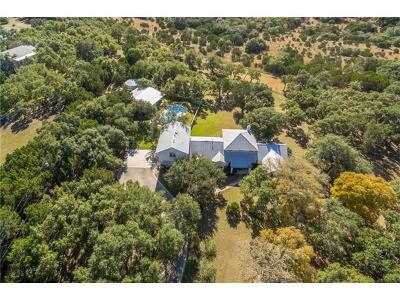 Dripping Springs Single Family Home For Sale: 510 Sunrise Trl
