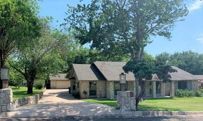 Marble Falls Single Family Home For Sale: 1804 Lacy Dr
