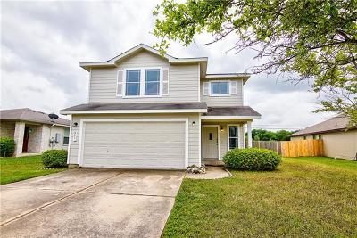 Hutto TX Single Family Home For Sale: $220,000