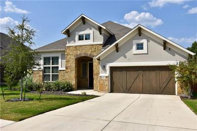 Leander Single Family Home For Sale: 1601 Burr Pkwy