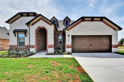 Round Rock Single Family Home For Sale: 435 Freeman Park Pl