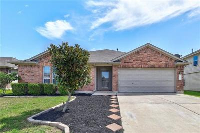 Hutto Single Family Home For Sale: 1109 Blewett Dr
