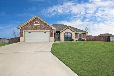 Nolanville Single Family Home Pending - Taking Backups: 210 Coffee Tree Ct