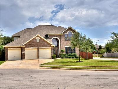 Round Rock Single Family Home For Sale: 2507 Echo Wood Pl