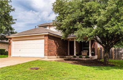 Cedar Park Single Family Home Pending - Taking Backups: 1007 Bohica Way
