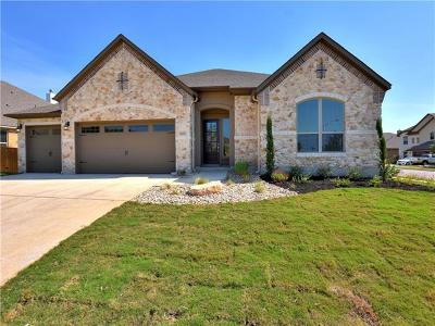 Round Rock Single Family Home For Sale: 3800 Stanyan Dr
