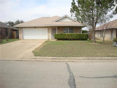 Leander Single Family Home Pending: 707 Mason St