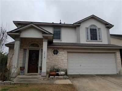 Round Rock Single Family Home For Sale: 1719 Rosenborough Ln S