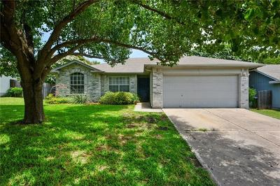 Round Rock Single Family Home For Sale: 1504 Honeysuckle Ln